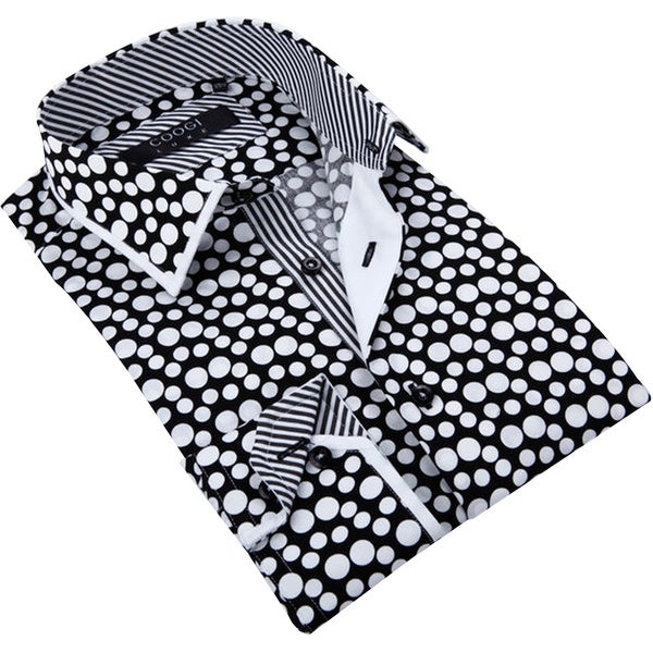 Shirt and Tie Combination #2: Solid-on-Pattern / Pattern-on-Solid