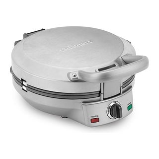 Cuisinart CPP-200 International Chef Stainless Steel Crepe/ Pizzelle/ Pancake Plus