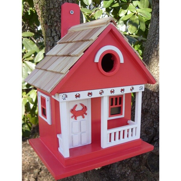 The Crab Cottage Birdhouse