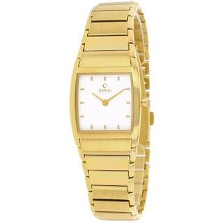 Obaku Women's V142LGISG Harmony Goldtone Stainless Steel Watch