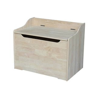 Juvenile 29-inch Unfinished Storage Box