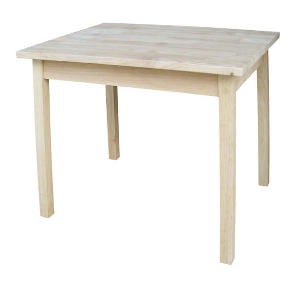 Unfinished Wood Children  x27. Unfinished Wood Children s Table   Free Shipping Today   Overstock