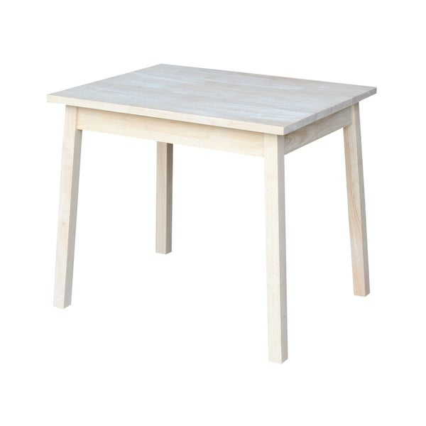 Superbe Unfinished Wood Childrenu0026#x27;s Table