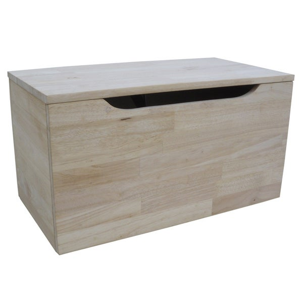 Juvenile 22 Inch Unfinished Storage Box Free Shipping