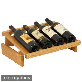 4-bottle Stackable Dakota Wine Display