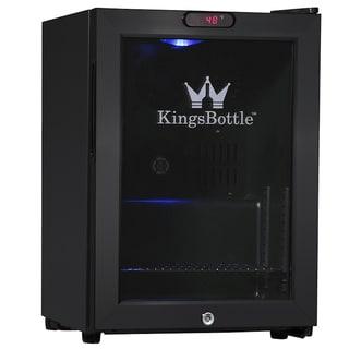 KingsBottle Black 38-can Compressor Mini Bar Fridge