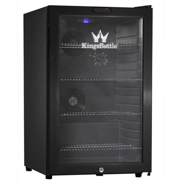 kingsbottle black 66 can compressor mini bar fridge black mini bar