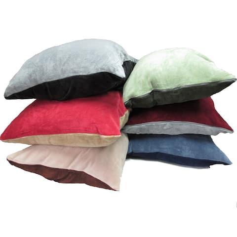 Oversized Plush Reversible Floor Cushion (28 x 36 inches)
