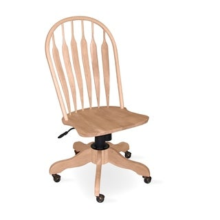 Steambent Windsor Unfininshed Parawood Highback Office Chair