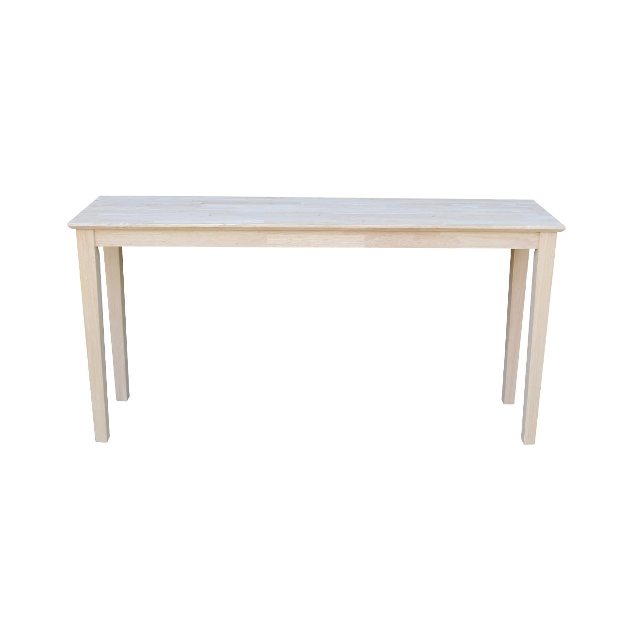 new style a83ae e9f81 Unfinished Shaker Extended Length Console Table
