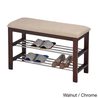 Porch & Den LoDo Champa Shoe Rack Bench (2 options available)