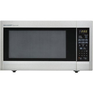 Sharp Stainless Steel Countertop Microwave