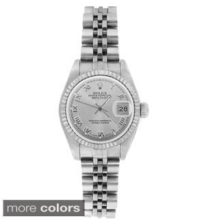 Pre-owned Rolex Women's 69174 Datejust Jubilee Bracelet Watch