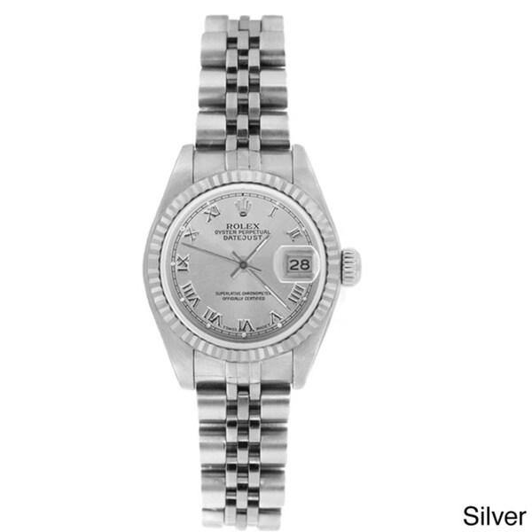 Pre-owned Rolex Women's 69174 Datejust Jubilee Bracelet Watch