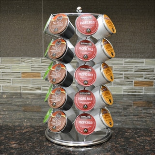 Chrome Coffee Pod Carousel