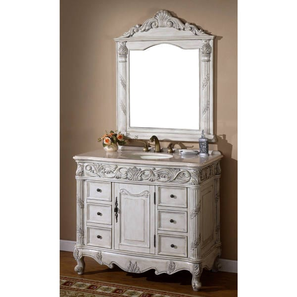 ica furniture eros single sink bathroom vanity with mirror free