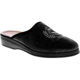 Men's Spring Step Fudge Black Textile