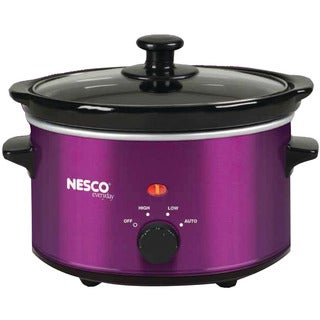 Nesco 1.5 Quart Slow Cooker, Purple