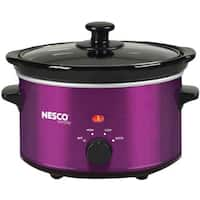 Nesco 1.5 Quart Slow Cooker, Purple