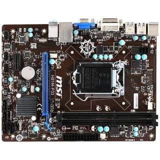 MSI H81M-P33 Desktop Motherboard - Intel Chipset - Socket H3 LGA-1150|https://ak1.ostkcdn.com/images/products/9311177/P16472088.jpg?impolicy=medium