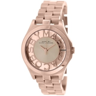 Marc By Marc Jacobs Women's Henry Skeleton MBM3293 Rose Goldtone Stainless Steel Quartz Watch