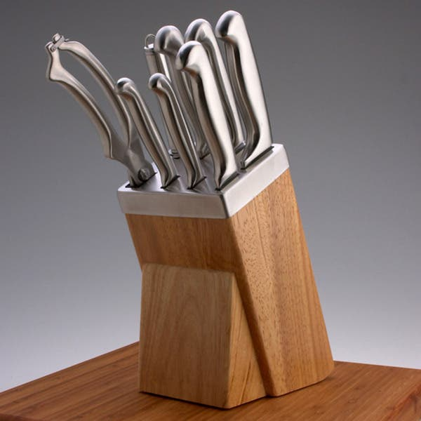 Shop Crofton Pro Chef 9 Pc 18 10 Cutlery Set Overstock 931167