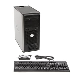 Dell Optiplex 755 Intel Core 2 Duo 2.33GHz CPU 4GB RAM 2TB HDD Windows 10 Pro Minitower Computer (Refurbished)