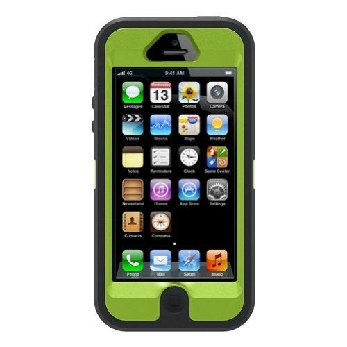 773dc82de60 Shop OtterBox Case 77-22464 for Apple iPhone 5/5S (Defender Series) - Black  - Free Shipping On Orders Over $45 - Overstock - 9312077