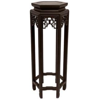 Handmade Oriental 28-inch Plant Stand (China)