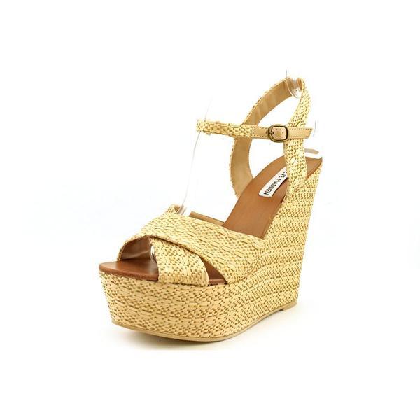 b959c4c1ebb Shop Steve Madden Women s  Westii  Raffia Sandals (Size 10 ) - Free ...