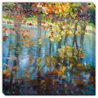 Gallery Direct Maxine Price's 'Dancing on the Water' Canvas Gallery Wrap Art