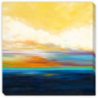 Gallery Direct Marie Meyer's 'Sunrise Over the Water' Canvas Gallery Wrap Art