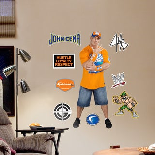 Fathead Jr. John Cena Wall Decals