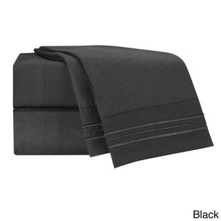 Clara Clark Premier 1800 Series Bed Sheet Set