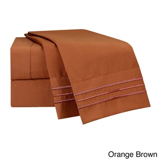 Clara Clark Premier 1800 Series Deep Pocket Bed Sheet Set (More options available)