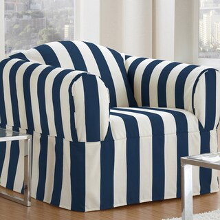 QuickCover Cabana One-piece Relaxed Fit Wrap Chair Slipcover