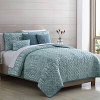 Amraupur Overseas Paisley 6-piece Quilt Set