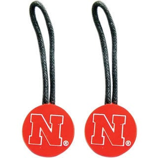 NCAA Nebraska Cornhuskers Luggage Tags (Pack of 2)