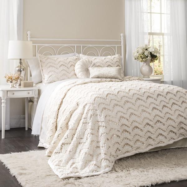 Lush Decor Giselle 3-piece Comforter Set