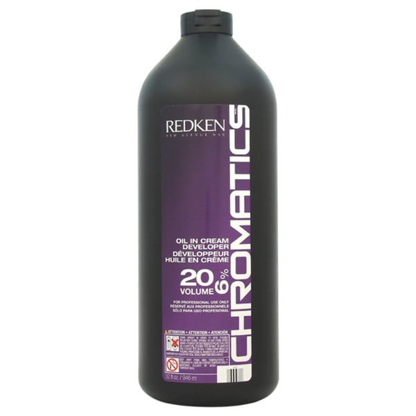 Redken Chromatics Oil In Cream Developer 20 Volume 6percent 32ounce Cream