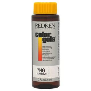 Redken Color Gels Permanent Conditioning Haircolor 7NG Saffron 2-ounce Hair Color