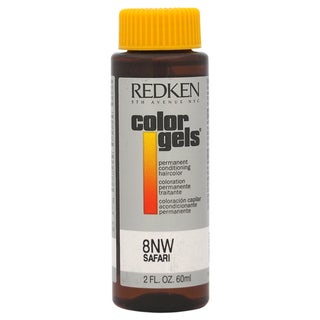 Redken Color Gels Permanent Conditioning 8NW Safari 2-ounce Hair Color