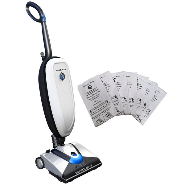 Soniclean VTplus Upright Vacuum w/ Bonus Supply of HEPA Bags (Refurbished)