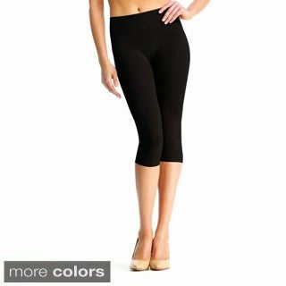Memoi Women's SlimMe High Waist Capri Shaper