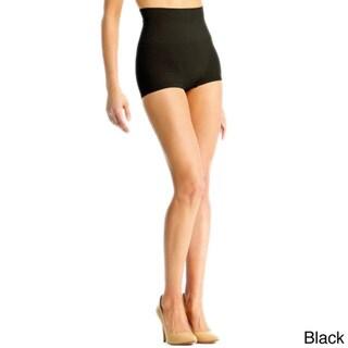 Memoi Women's SlimMe High Waisted Boy Shorts