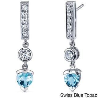Link to Oravo Sterling Silver Heart Shape Earrings Similar Items in Earrings