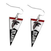 NFL Atlanta Falcons Pennant Earrings