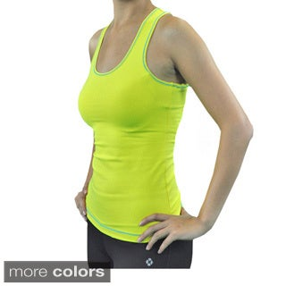 Madison Sport Women's 'Angie' Racer Back Scoop Neck Tank Top