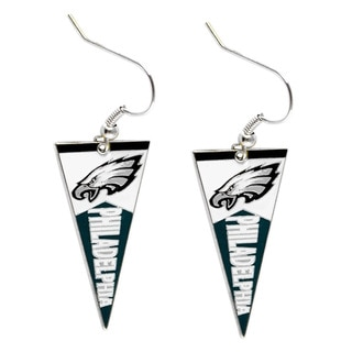 NFL Philadelphia Eagles Pennant Earrings