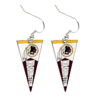 NFL Washington Redskins Pennant Earrings